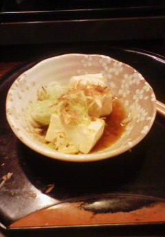 初鍋しました・今年は湯豆腐でスタートです!1