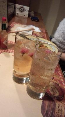 「桜ハイボール」でカンパイ!1