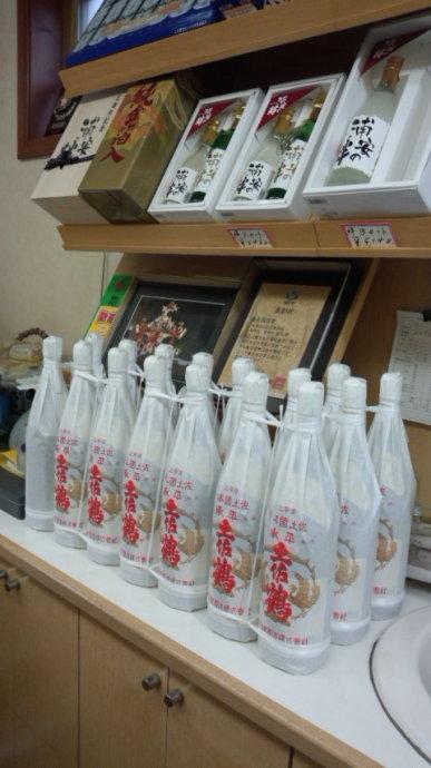 浦安三社祭にむけて奉納酒も準備OKです!1